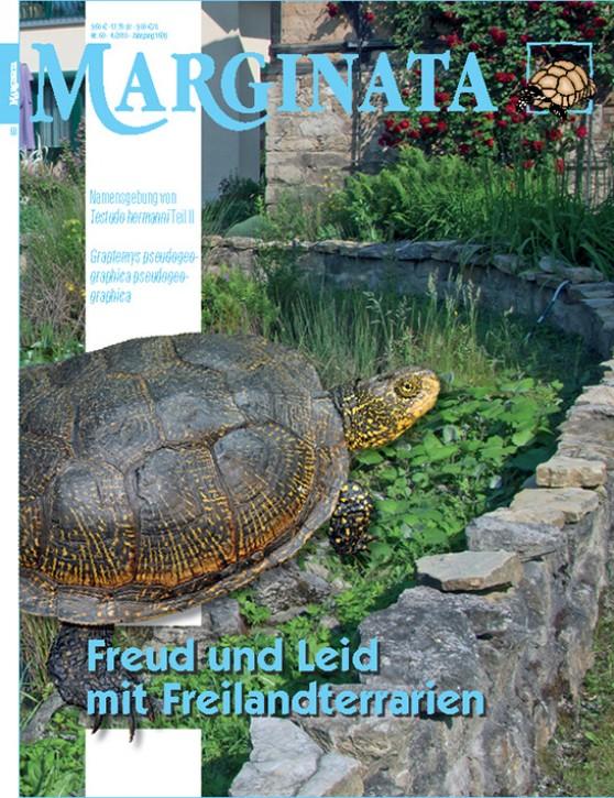 MARGINATA 60: Freud und Leid mit Freilandterrarien