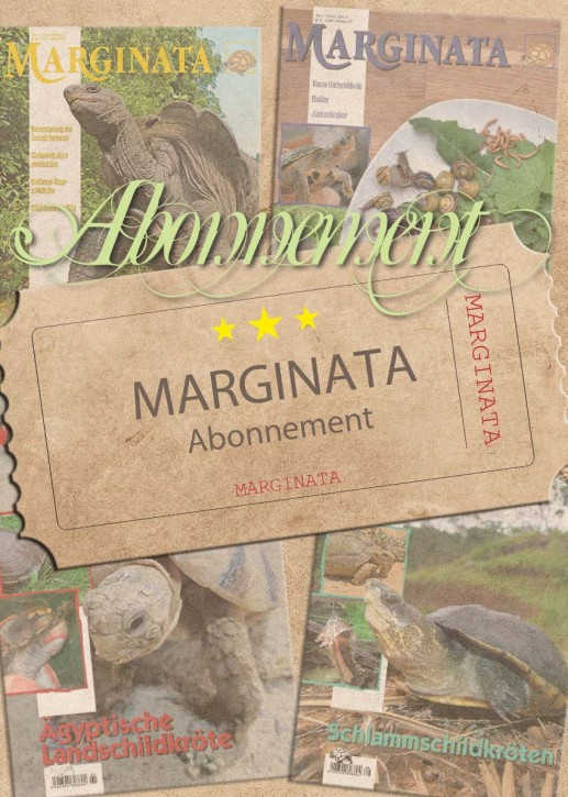 MARGINATA-Abonnement ab nächster Ausgabe inkl. Versand