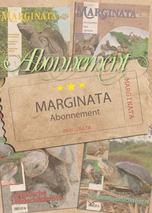 MARGINATA-Auslandsabonnement ab aktueller Ausgabe inkl. Versand
